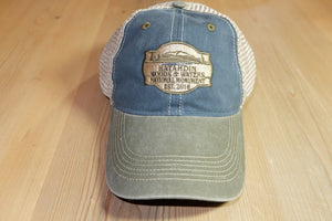 Katahdin Woods and Waters Monument Hat - Blue/Green