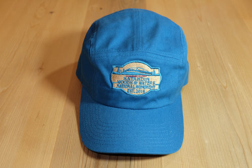 Katahdin Woods and Waters Monument Hat - Peacock Blue