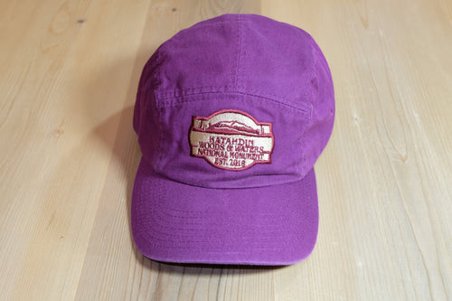Katahdin Woods and Waters Monument Hat - Magenta