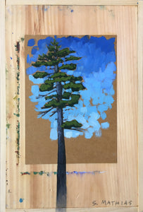 Mighty Pine - Painting