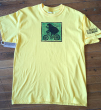 Bike Riding Bear Adult T-Shirt