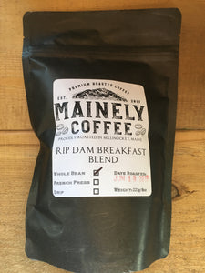 Mainely Coffee - Rip Dam Breakfast Blend