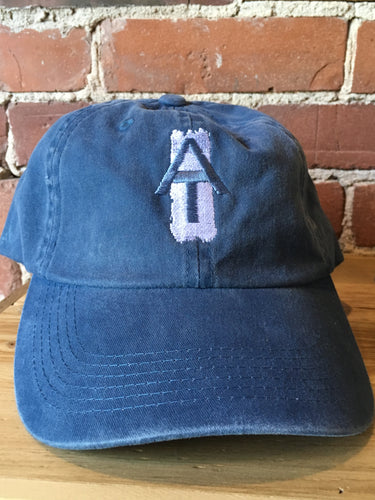 AT Blaze Hat- Distressed Blue