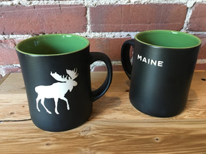 White Maine Moose - Mug