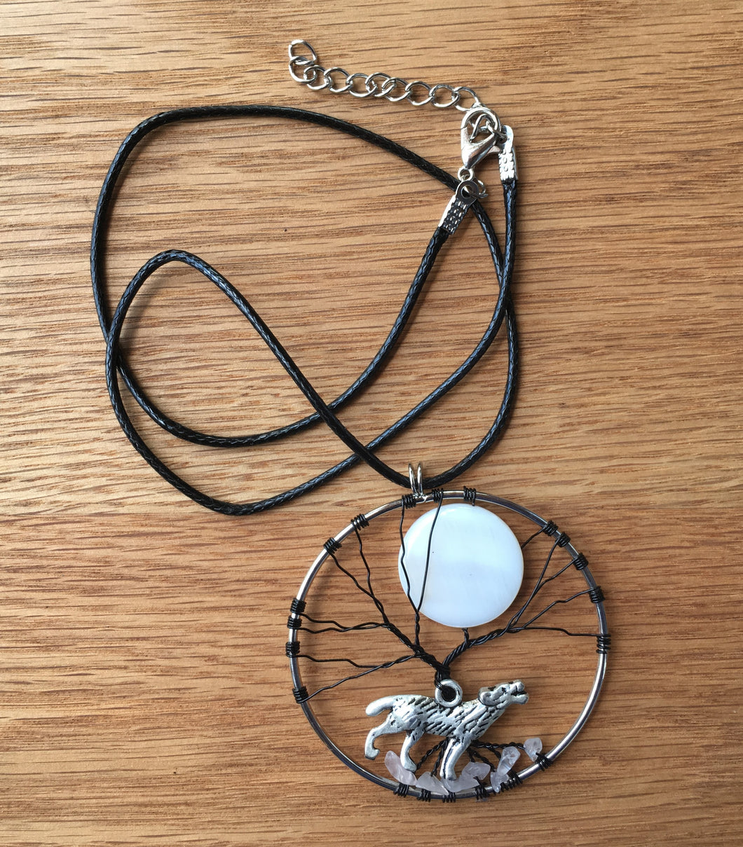 Necklace - Howl at the Moon Pendant