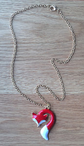Necklace - Red Fox