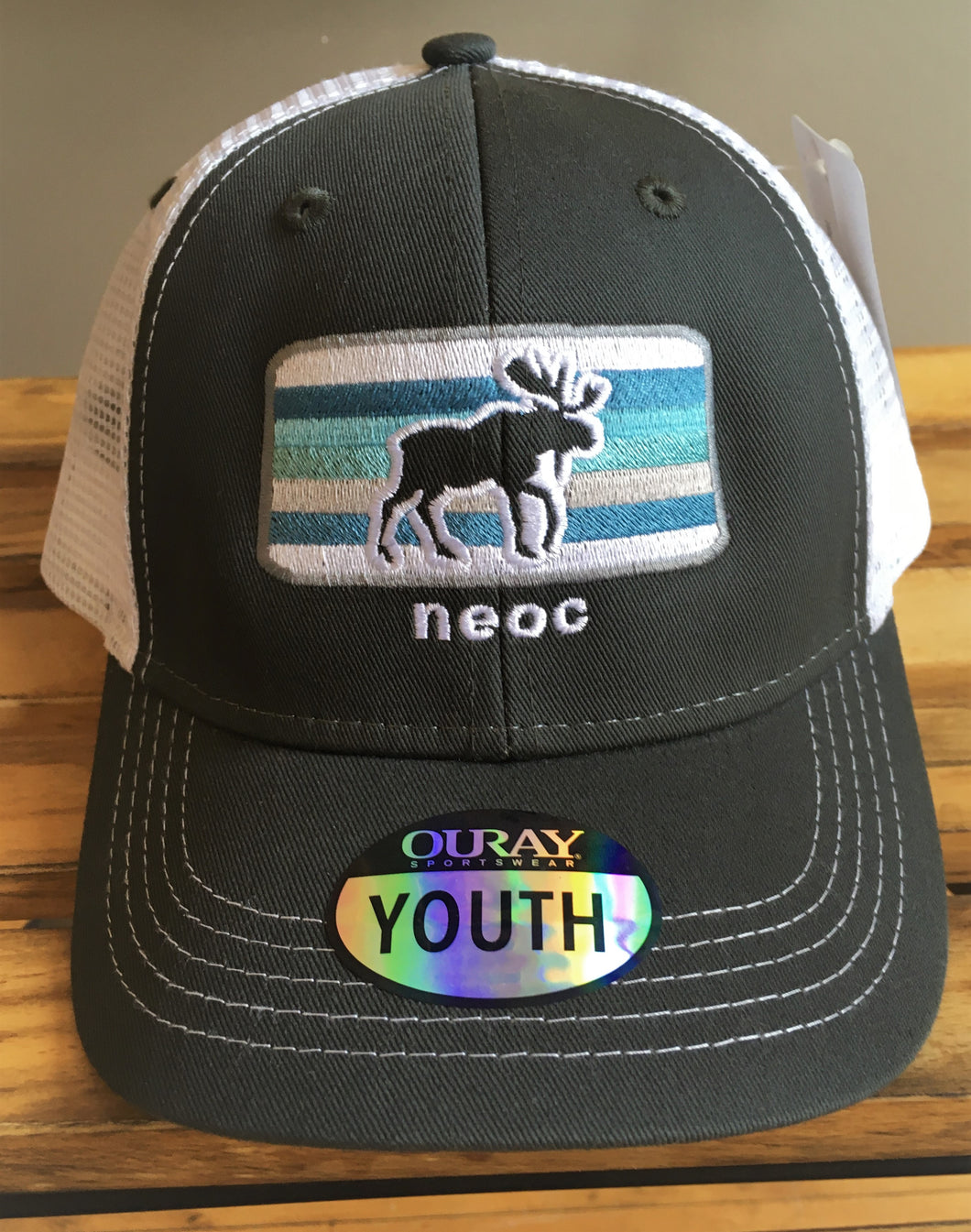 NEOC Mesh Hat Brown - YOUTH