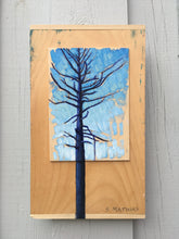 Pine Tree Blues - Painting