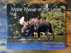 Maine Moose on the Loose - Book