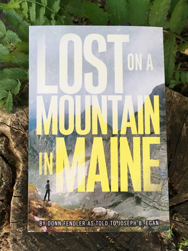 LOST on a Mountain in Maine - Book
