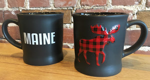 PLAID Maine Moose - Mug