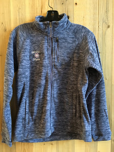 Fleece Jacket - Blue Heather