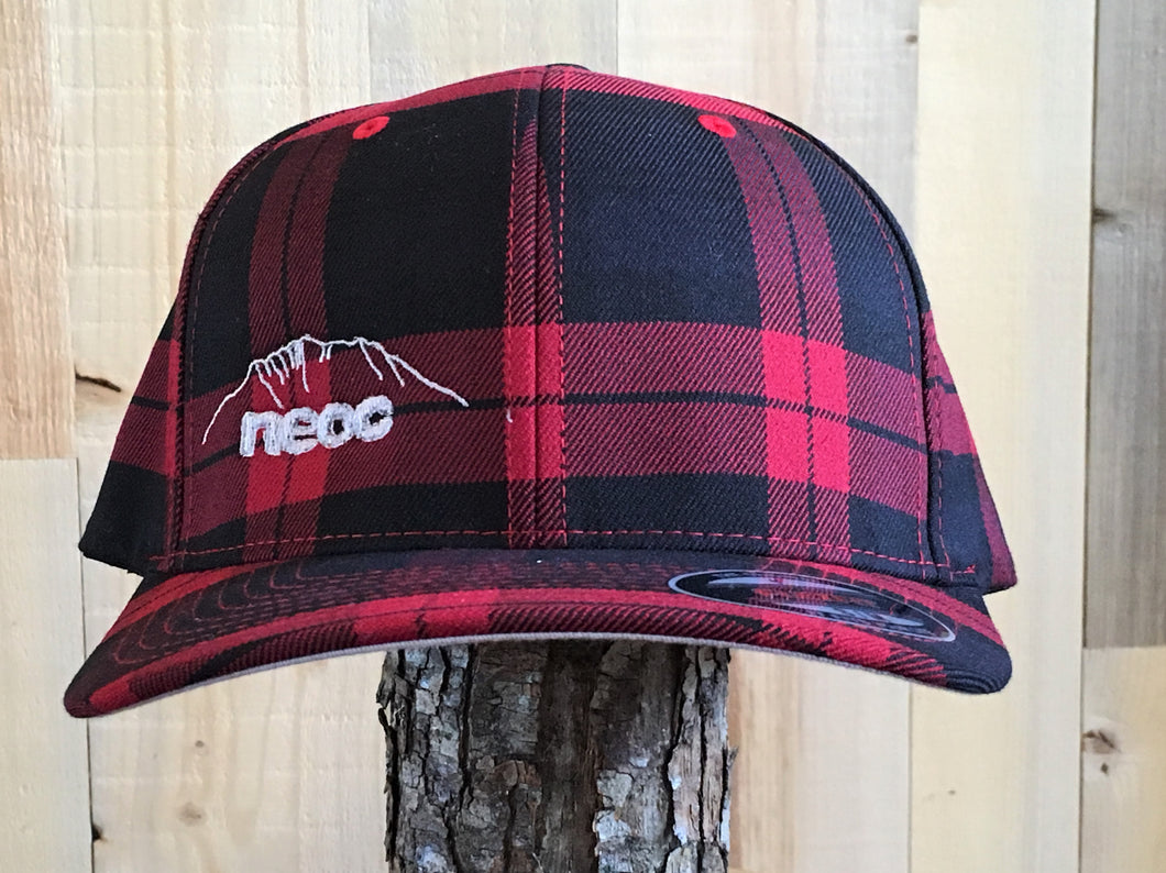 Plaid Hat - Red
