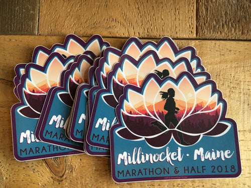 Millinocket Marathon 2018 Sticker
