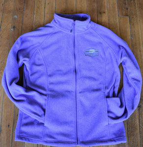 Purple Fleece Jacket - Medium