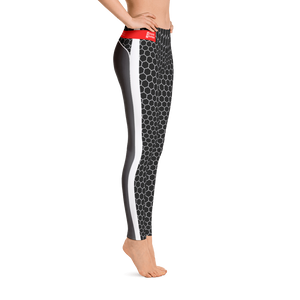 HXG Collection Grey Workout Leggings - Michelle Maureen