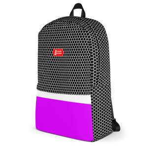 HXS Collection Pink Backpack - Right View