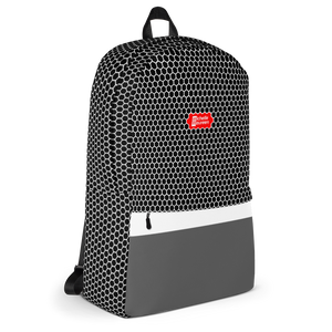 HXS Collection Grey Backpack - Right View