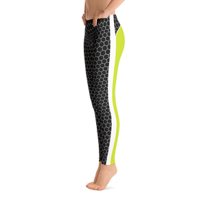 HXG Collection Green Workout Leggings - Michelle Maureen