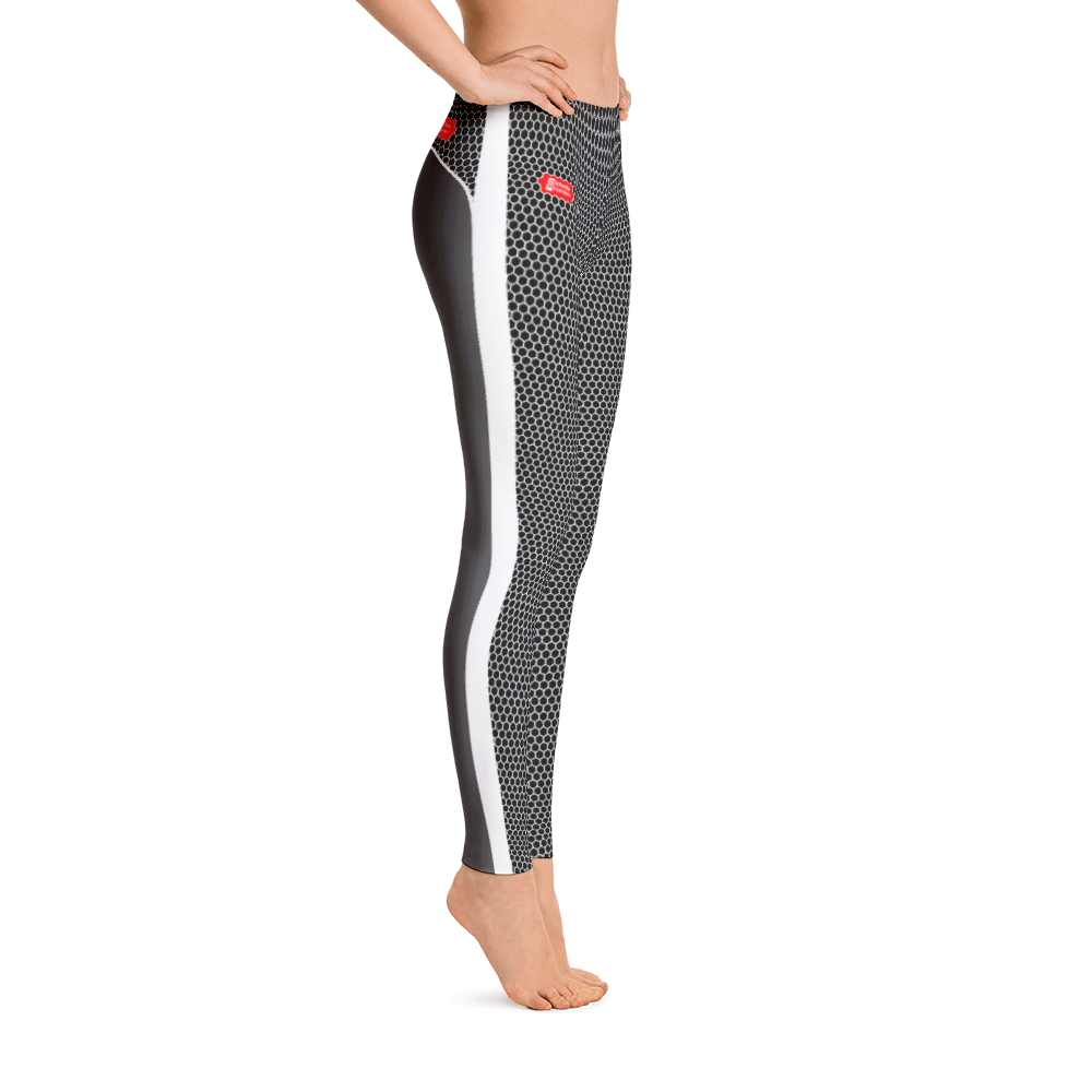 HXS Collection Grey Workout Leggings - Michelle Maureen