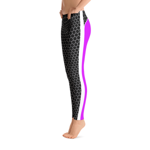 HXG Collection Pink Workout Leggings - Michelle Maureen