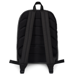 HXS Collection Pink Backpack - Back View