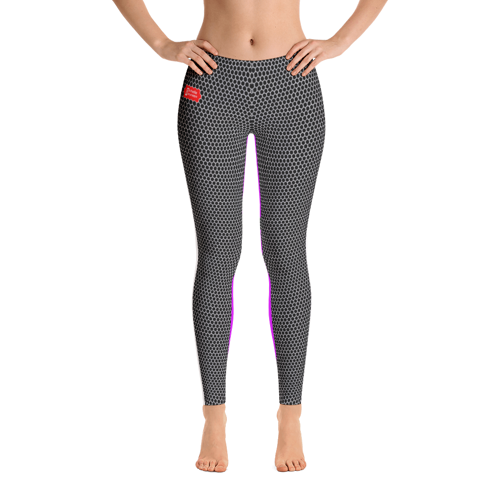 HXS Collection Pink Workout Leggings - Front