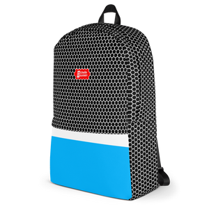 HXS Collection Blue Backpack - Right View