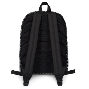 HXS Collection Blue Backpack - Black View