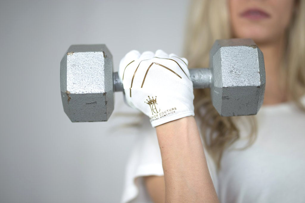 Ladies Bombshell Weight Lifting Gloves