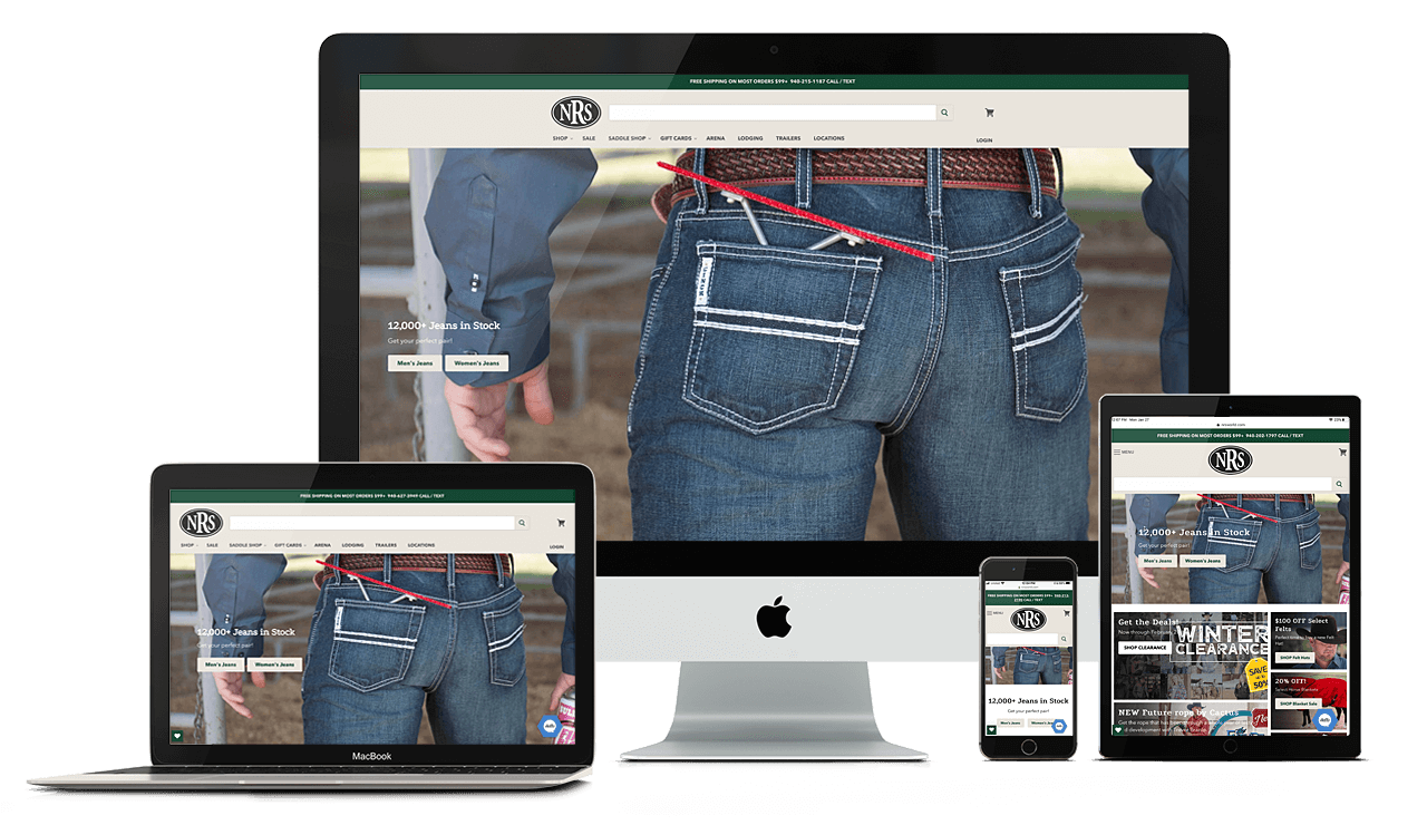 Tomorrows Designs - NRS - National Roper's Supply - Shopify Plus