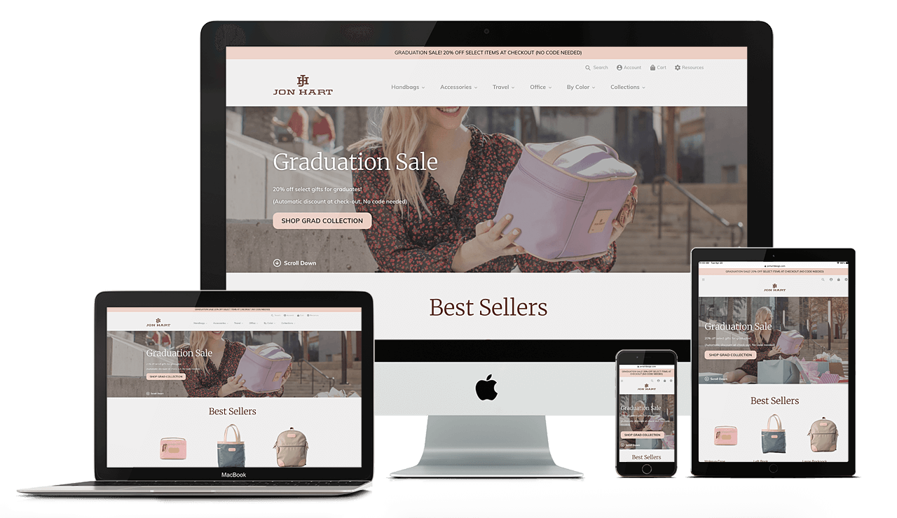 Jon Hart Designs, website by Tomorrows Designs - Shopify Experts