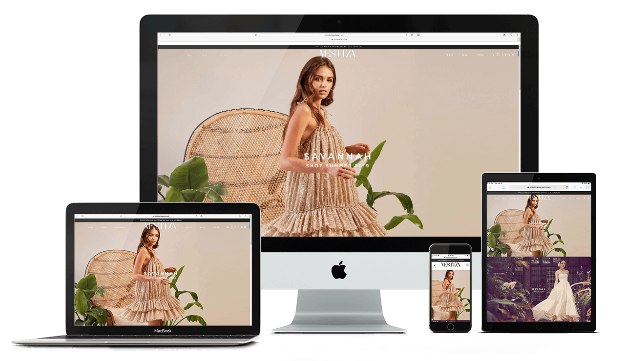 Mestiza New York - Shopify Expert - Tomorrows Designs