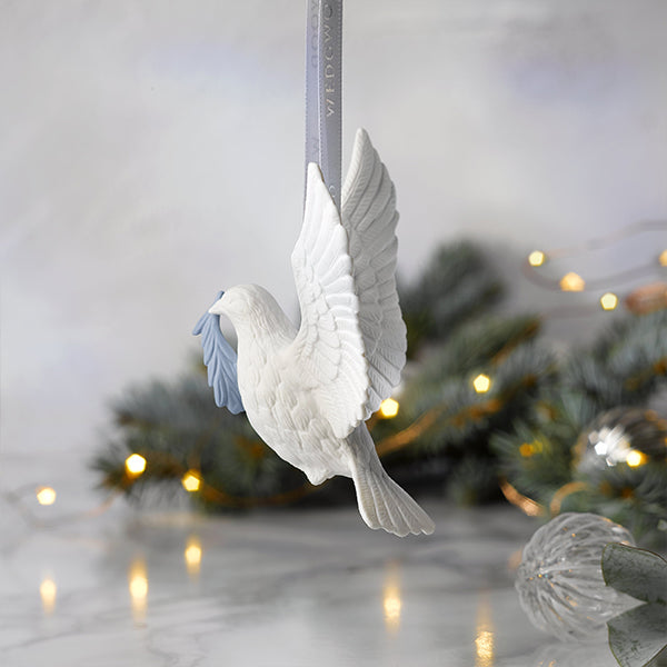Figural Dove Ornament