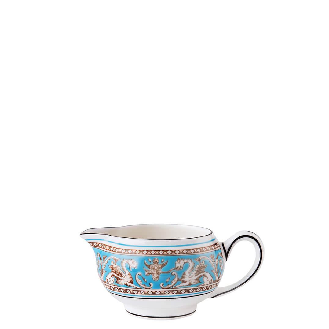 Florentine Turquoise Creamer (Small)