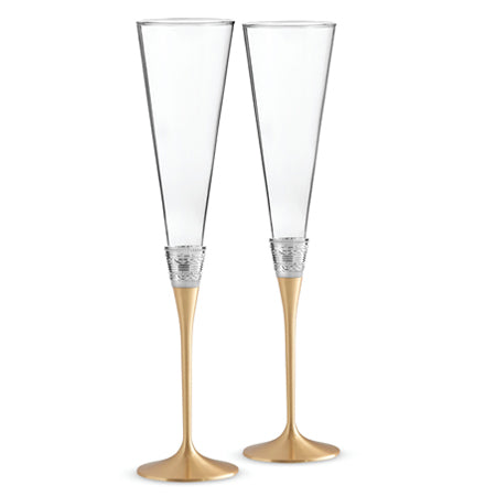 Vera Wang With Love Gold Toasting Flute (Set of 2)