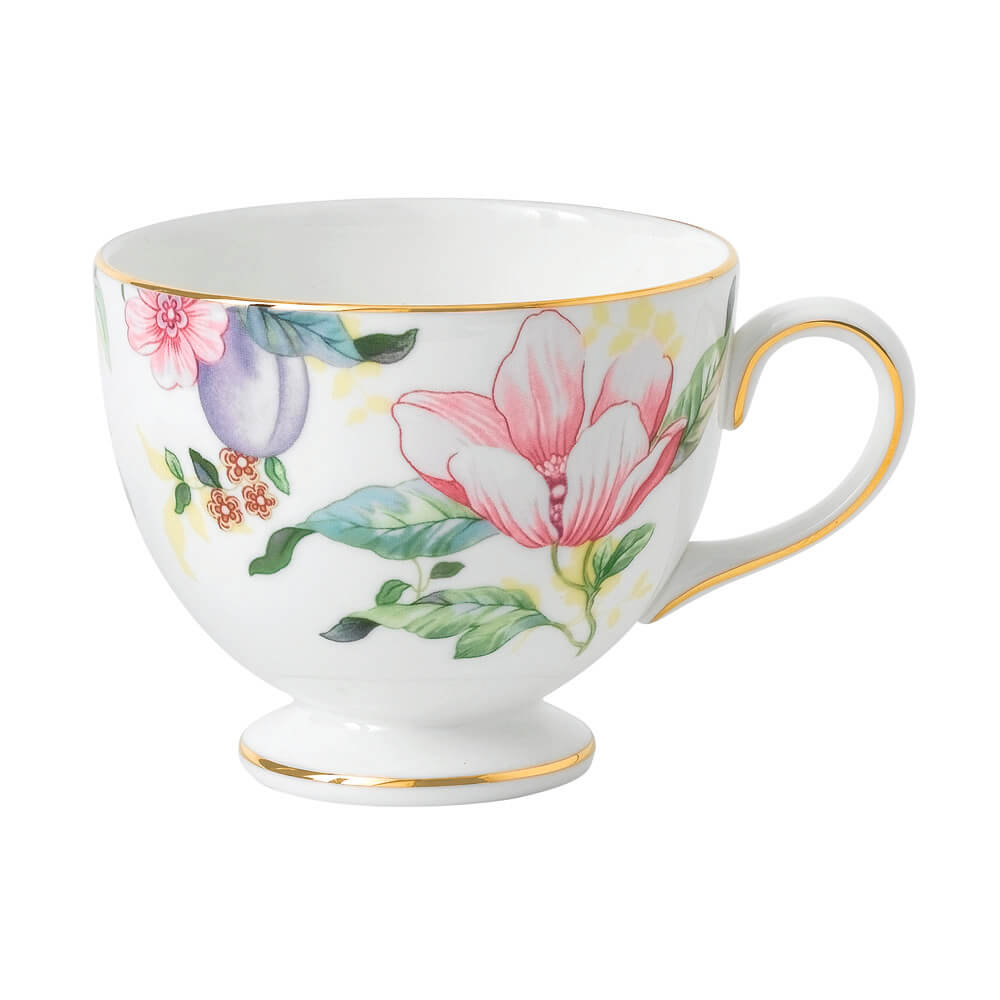 Sweet Plum Damask Teacup Leigh
