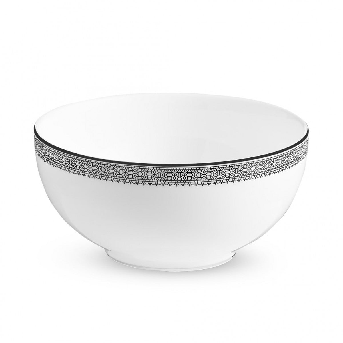 Vera Wang Lace Platinum Soup/Cereal Bowl