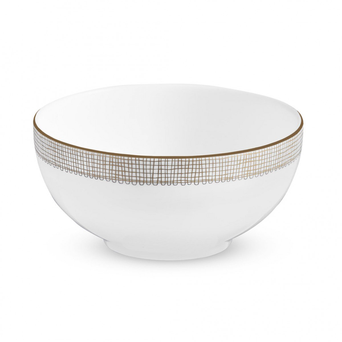 Vera Wang Gilded Weave Soup/Cereal Bowl