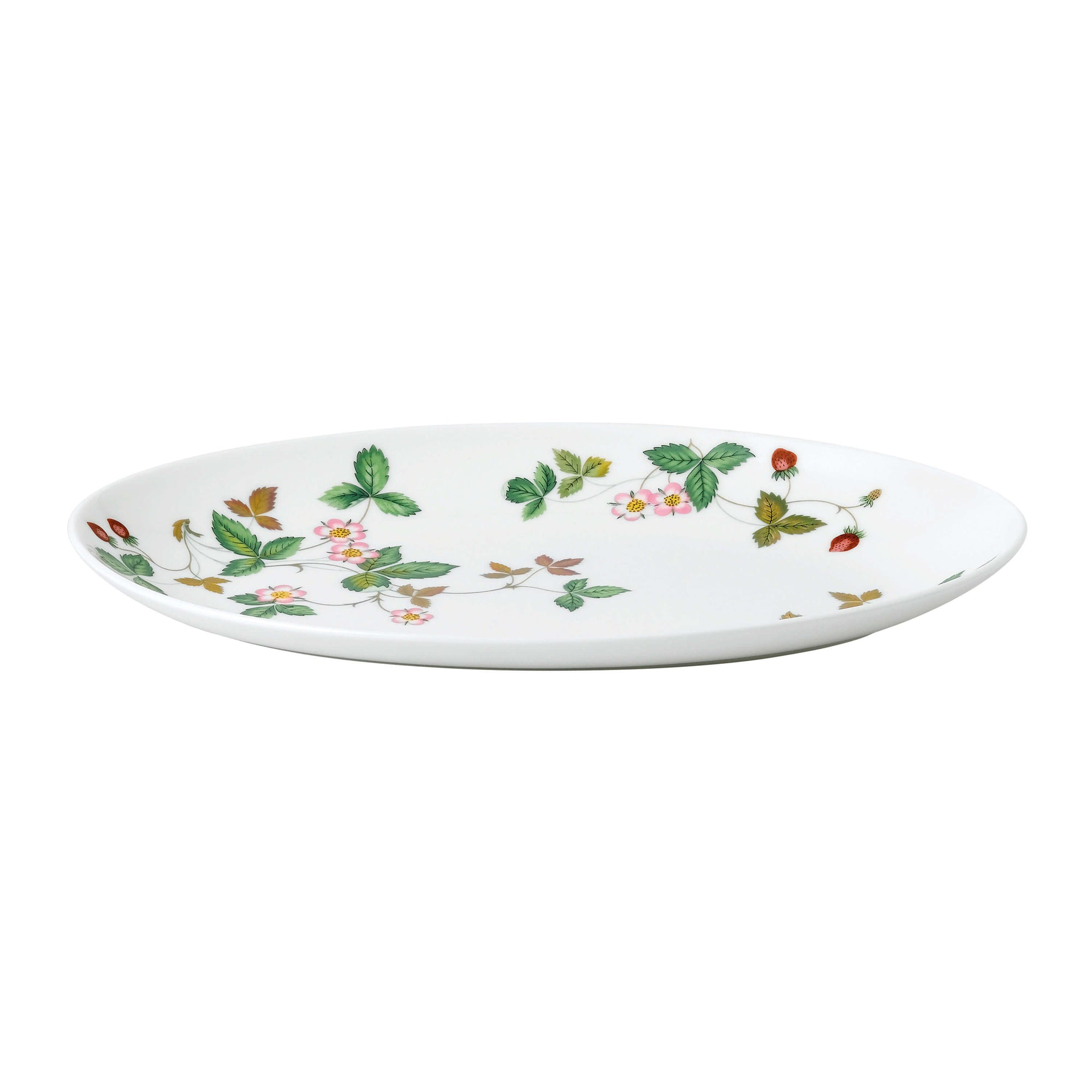Wild Strawberry Oval Coupe Plate 26cm
