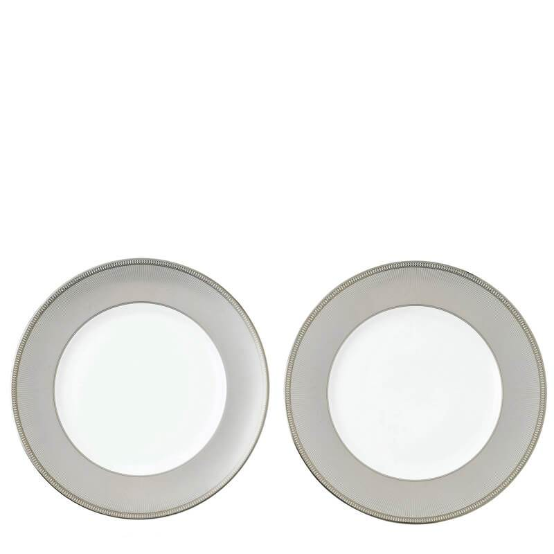 Winter White 27cm Plate, Set of 2
