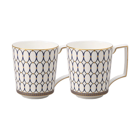 Renaissance Gold Mug, Set of 2
