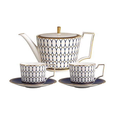 Renaissance Gold 3 Piece Tea Set