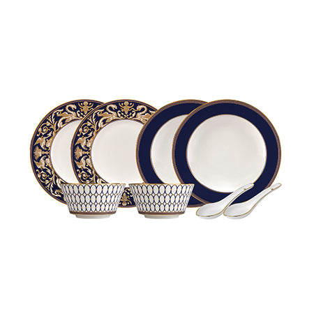Renaissance Gold 8 Piece Dinner Set