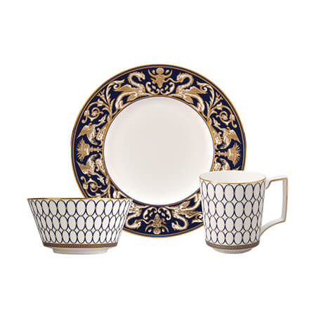 Renaissance Gold 3 Piece Dinner Set