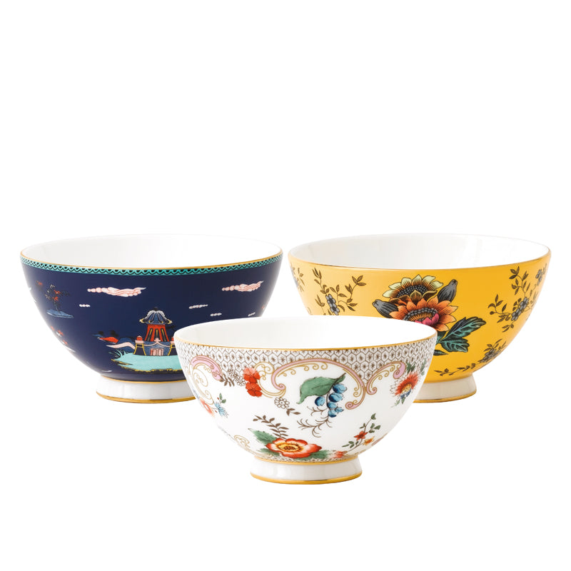 Wonderlust Bowls Family Set (Set of 3)
