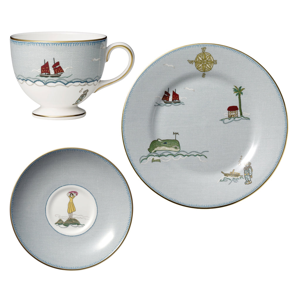 Sailor's Farewell 3-Piece Tea Set