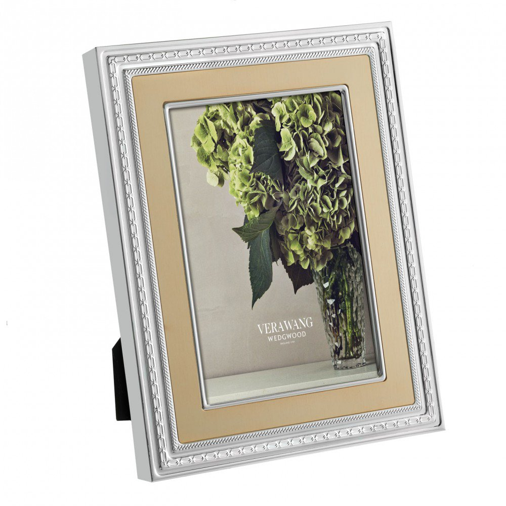 Vera Wang With Love Photo Frame, Gold (Photo: 20x25cm / 8x10inch)