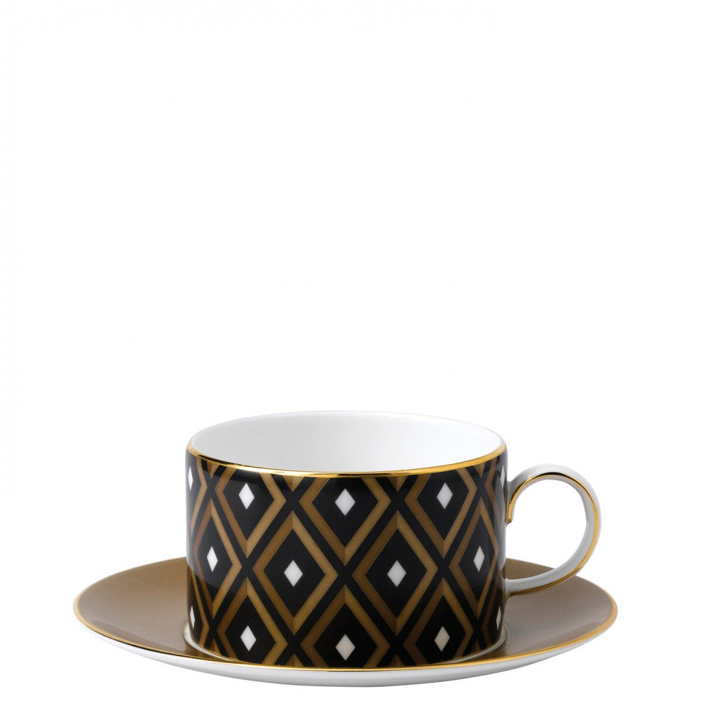 Arris Teacup and Saucer Geometric