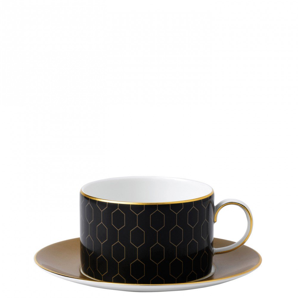 Arris Teacup and Saucer Honeycomb